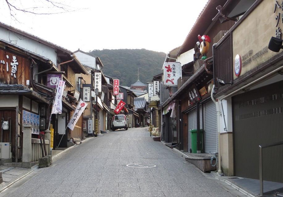 京都・清水寺の周辺・付近のお土産店の営業時間「開店時間・閉店時間」って何時から何時まで?