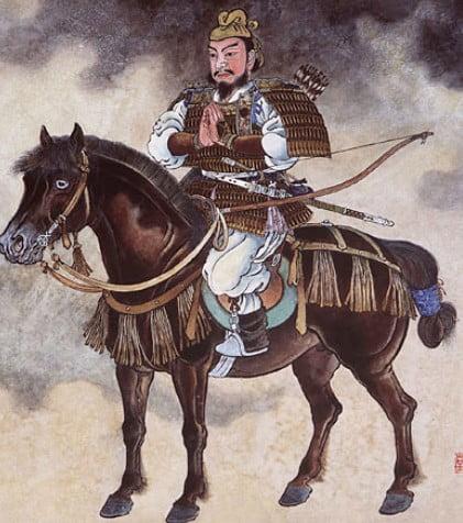 征夷大将軍となる「坂上田村麻呂」