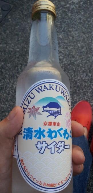 清水寺 清水順正 おかべ屋 清水わくわくサイダー (3)