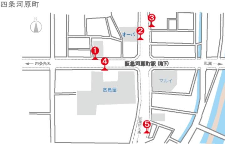 阪急河原町駅から京都清水寺までアクセスする方法