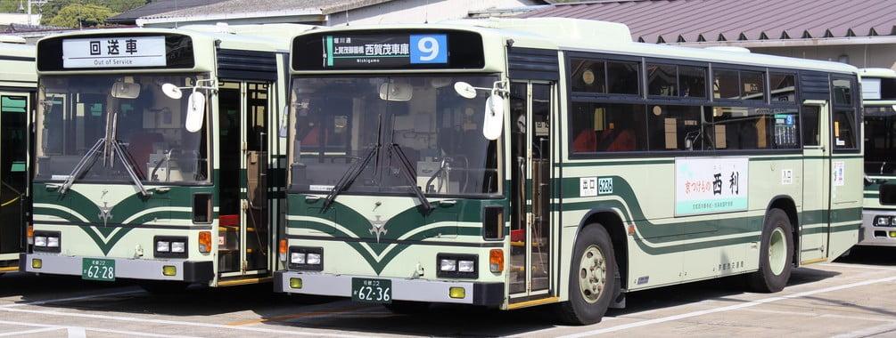 ↑京都市営バス