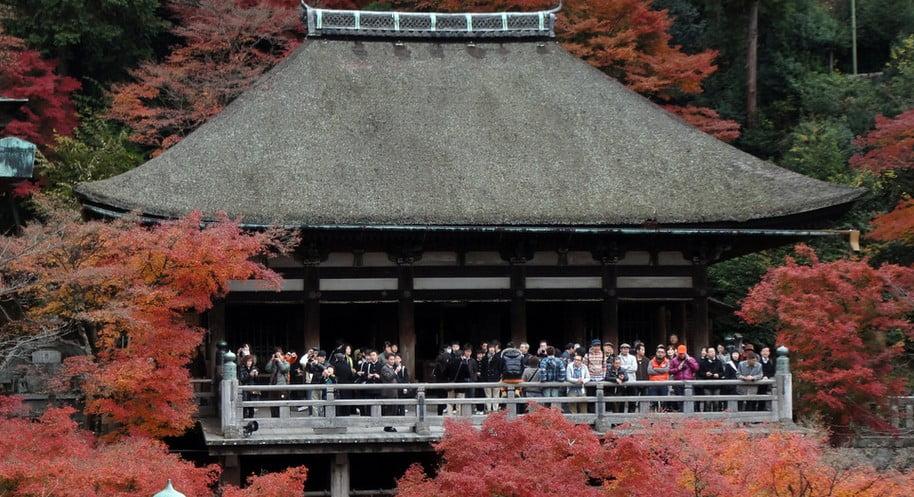 京都・清水寺・奥の院
