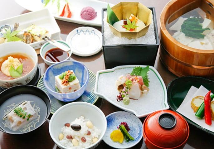 京都 湯豆腐 豆水楼