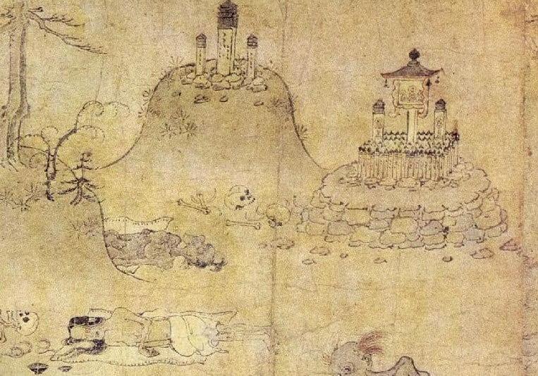 京都・清水寺の鳥辺野に実在した「恐怖の鳥葬」とは?