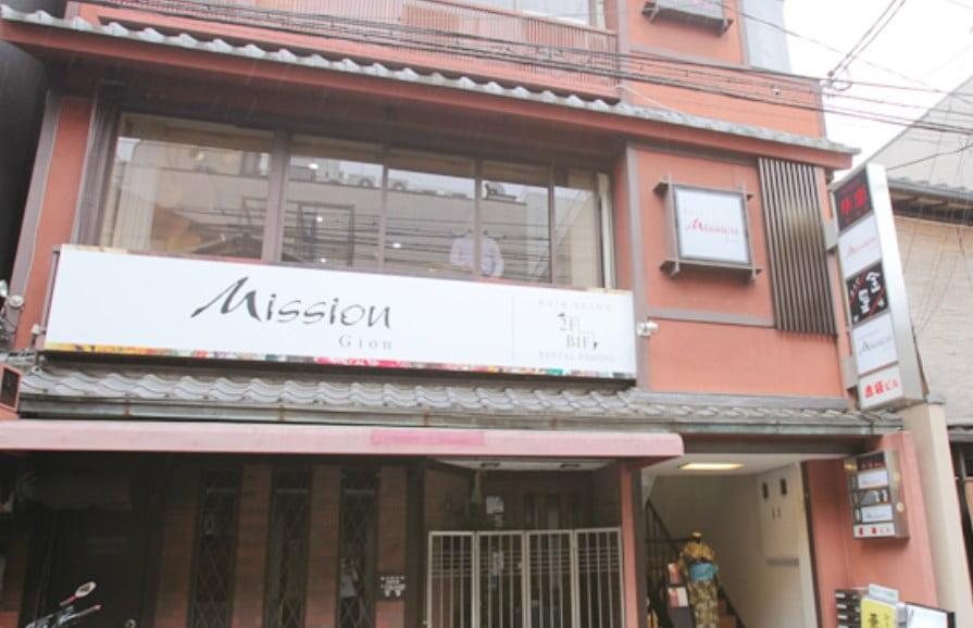 京都・清水寺「ミッション祇園(hair Mission GION)」