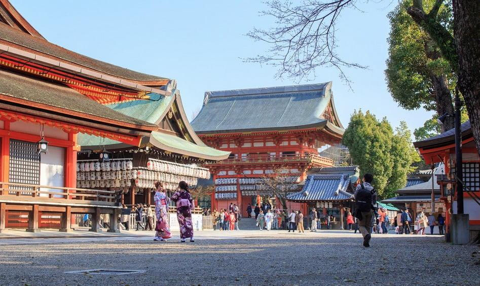 地主神社(清水寺)から八坂神社までのオススメ観光コース