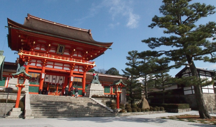 伏見稲荷大社から地主神社(清水寺)までのオススメ観光コース
