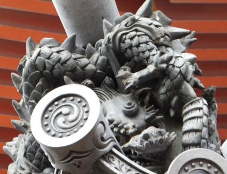 清水寺の七不思議&裏話【その6】「三重塔の龍瓦」
