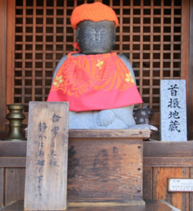 清水寺の七不思議&裏話【その7】「首振り地蔵」