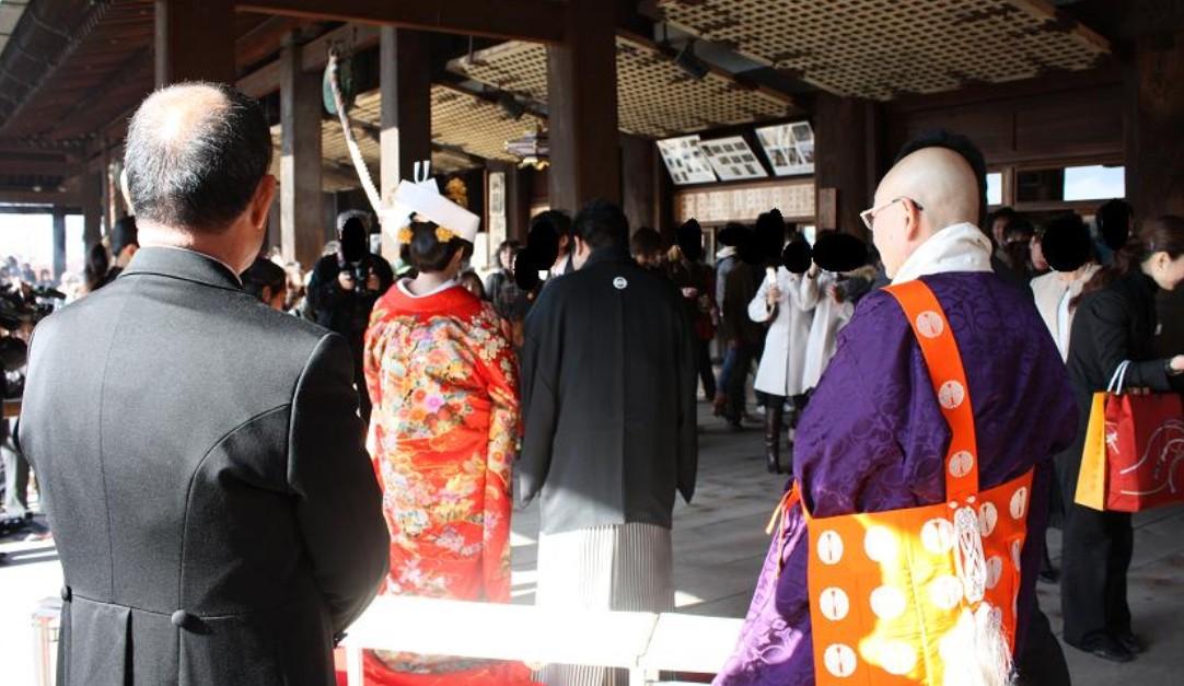 京都・清水寺の仏前結婚式のクチコミ・評判