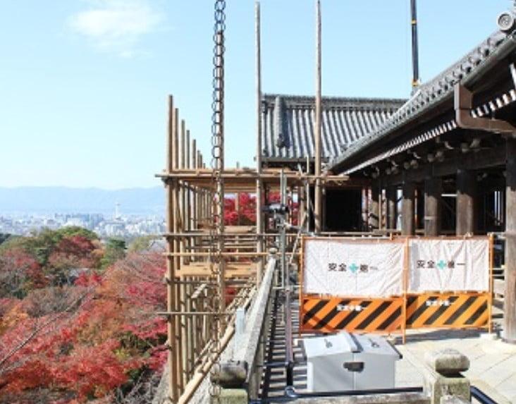 京都・清水寺の「平成の大改修」は1度に全部できない