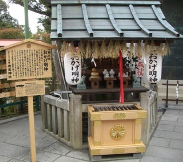 京都・清水寺・地主神社おかげ明神